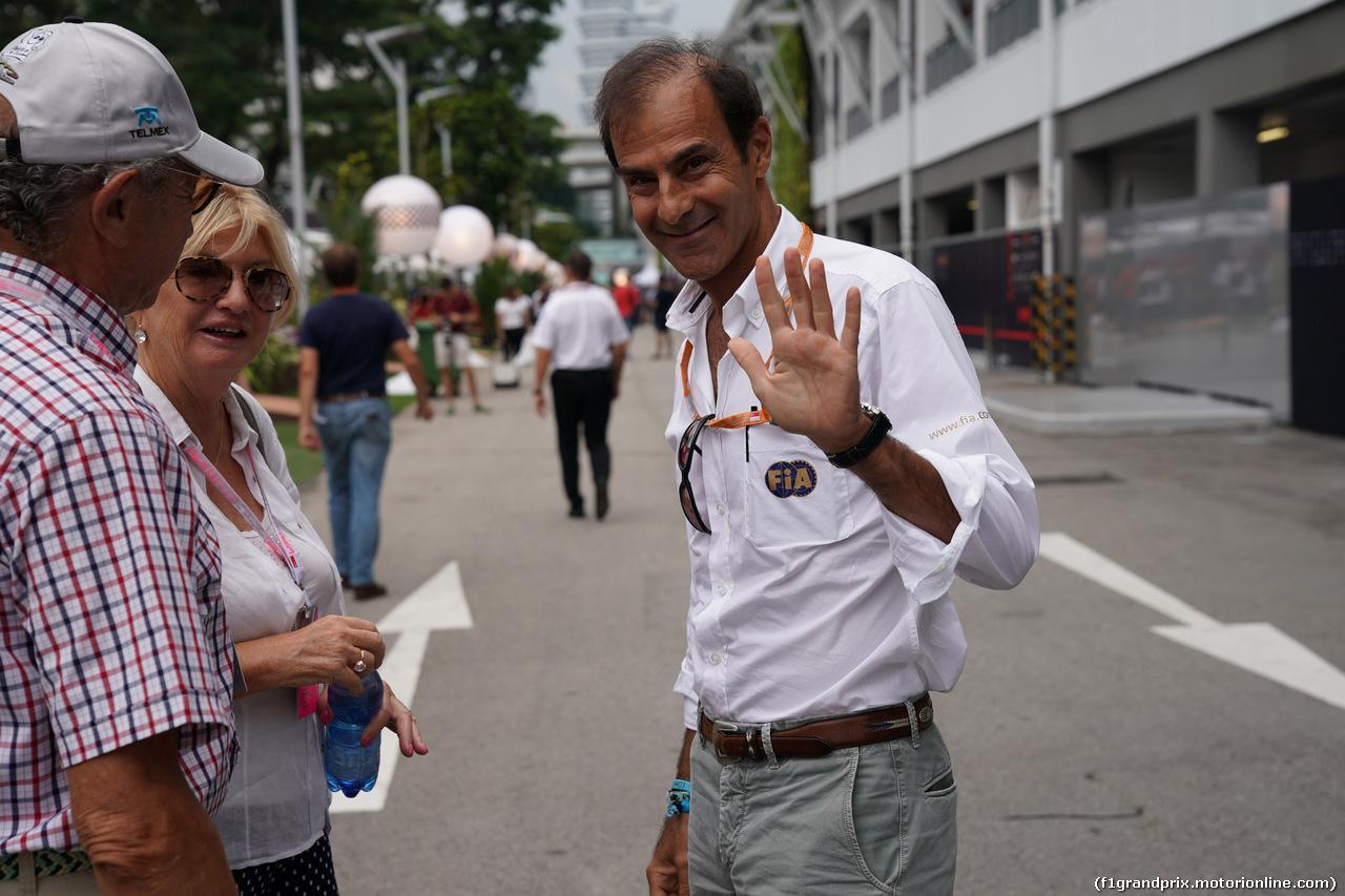 エマニュエル・ピロ、F1アブダビGPのレース・スチュワードに : F1通信