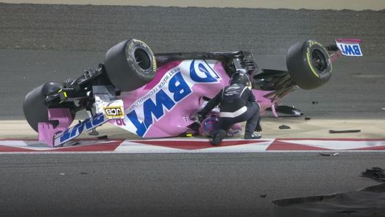 ランス・ストロール、裏返る:2020年F1バーレーンGP