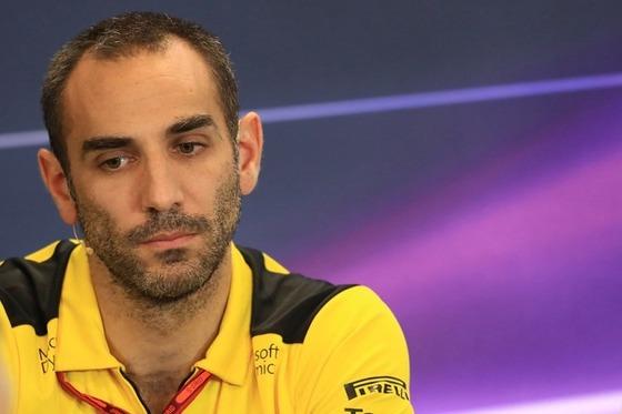 シリル・アビテブール(ルノーF1チーム代表)
