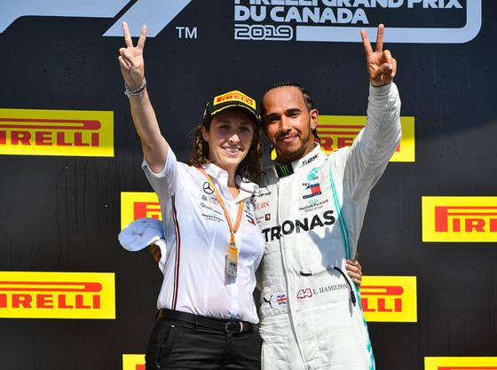 ルイス・ハミルトン(メルセデス)2019年F1カナダGP