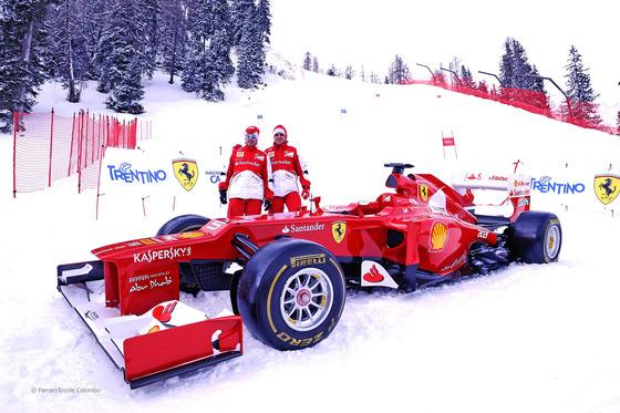 フェルナンド・アロンソ、フェリペ・マッサ: Wrooom 2013 フェラーリ・メディア・イベント
