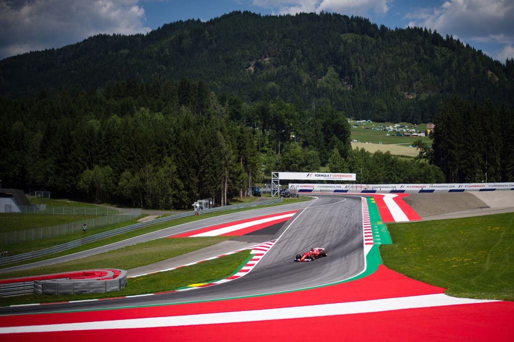 F1オーストリアGPフリー走行2回...