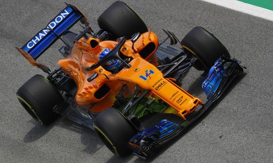 フェルナンド・アロンソ(マクラーレン)2018年F1スペインGP