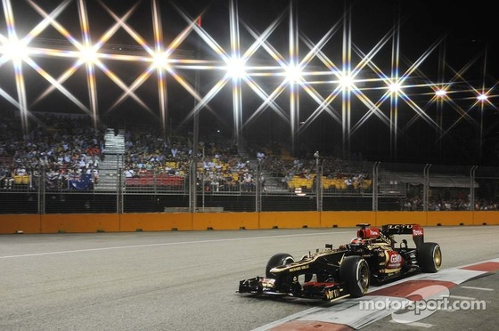 キミ・ライコネン(ロータス)、2013年F1シンガポールGP予選