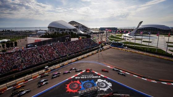 2018年F1ロシアGPスタート