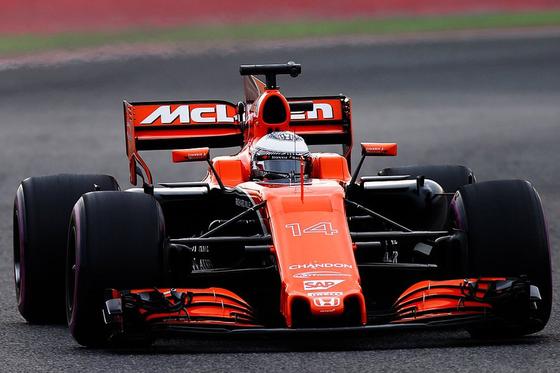フェルナンド・アロンソ(マクラーレン・ホンダMCL32)バルセロナF1テスト2017年3月
