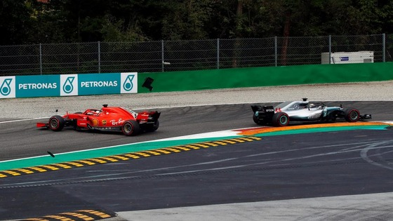 ベッテル、ハミルトンと接触してスピン:2018年F1イタリアGP