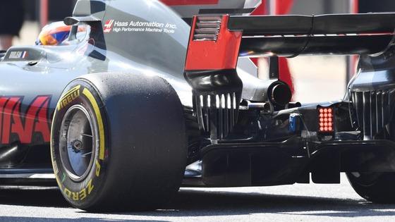 2017年F1タイヤ(ハースVF17)バルセロナF1テスト
