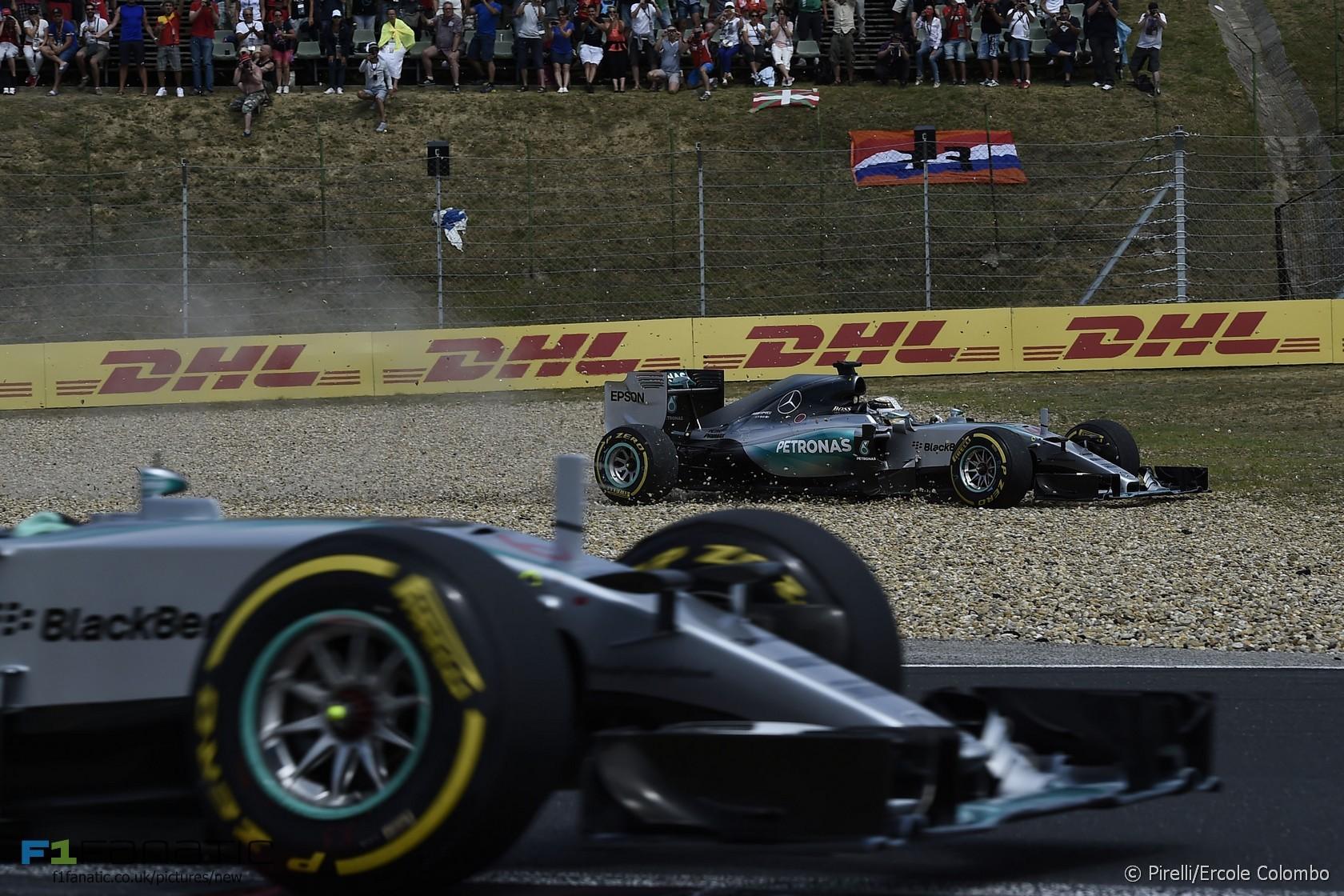 F1ハンガリーGP 予選・決勝デー...