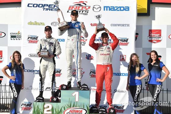 マックス・チルトン、インディ・ライトで優勝!: アイオワ・スピードウェイ