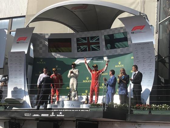 ベッテル、ハミルトン、ライコネン:2018年F1ハンガリーGP