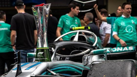 メルセデスF1チーム、コンストラクターズ・チャンピオンシップ5連覇:2018年F1ブラジルGP