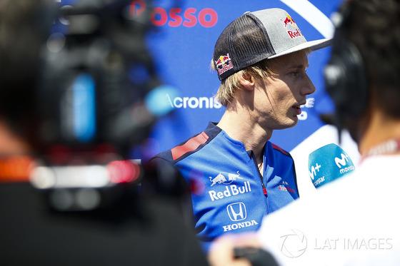 ブレンドン・ハートレイ(トロ・ロッソ・ホンダ)2018年F1フランスGP