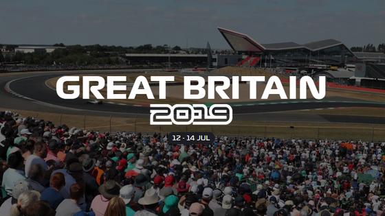 2019年F1イギリスGP日程