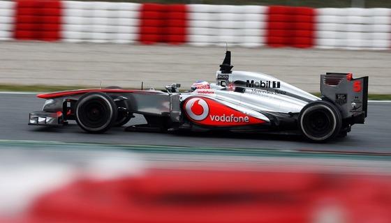 ボーダフォン、2013年末にマクラーレンとのスポンサーシップ契約終了