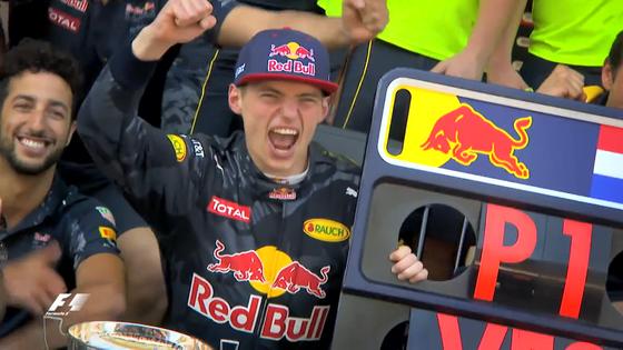 マックス・フェルスタッペン(レッドブル)F1初優勝、2016年F1スペインGP