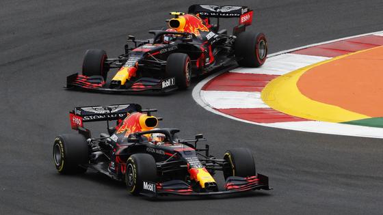 マックス・フェルスタッペン、アレックス・アルボン(レッドブル・ホンダ)2020年F1ポルトガルGP