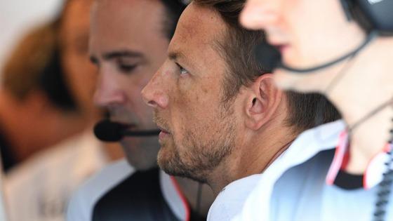 ジェンソン・バトン(マクラーレン・ホンダ): F1ハンガリーGP