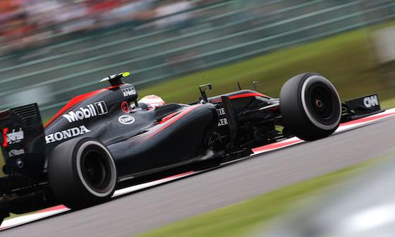ジェンソン・バトン(マクラーレン・ホンダ)、2015年F1