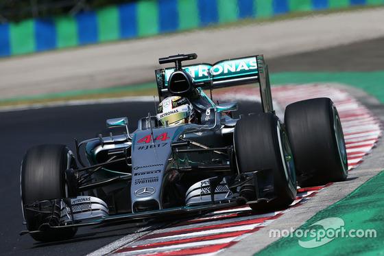 ルイス・ハミルトン(メルセデス)、2015年F1ハンガリーGP