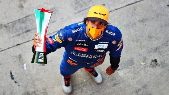 カルロス・サインツ・ジュニア(マクラーレン)2020年F1イタリアGP