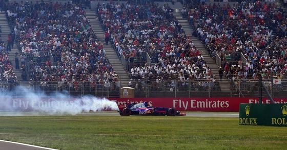 F1のエンジンブロー