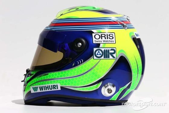 フェリペ・マッサ(ウィリアムズ): F1ヘルメット