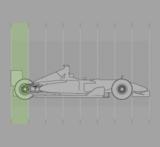 フェラーリF2008:リア・ディフューザの垂直スリット