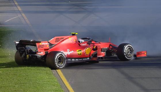 シャルル・ルクレール(フェラーリ)2019年F1オーストラリアGP