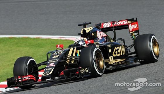 ロマン・グロージャン(ロータス)、2015年F1日本GP