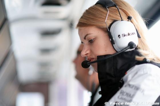 バーナデット・コリンズ(フォース・インディアF1チームのストラテジスト): F1ハンガリーGP