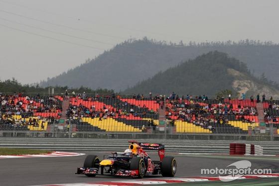 セバスチャン・ベッテル、2012年F1韓国GP