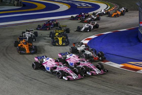 オコンとぺレス::2018年F1シンガポールGP