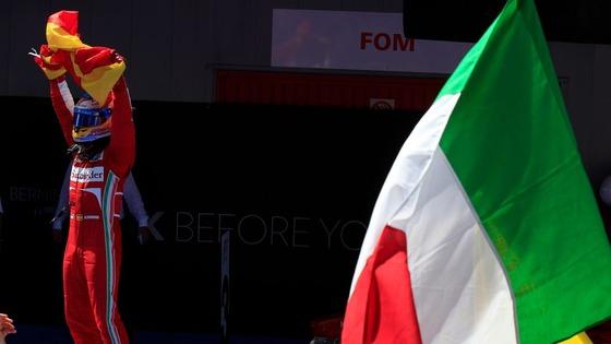 フェルナンド・アロンソ(フェラーリ)2013年F1スペインGP 優勝!