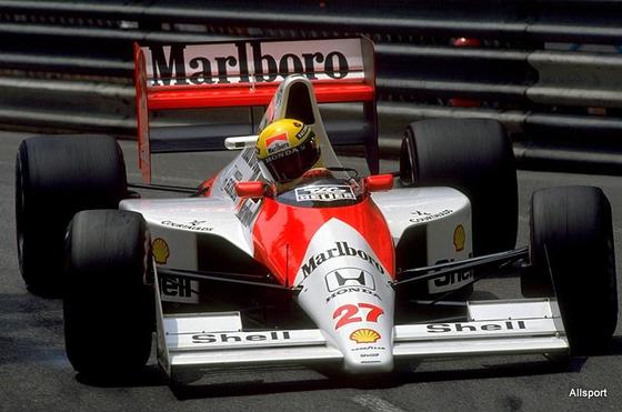 アイルトン・セナ(マクラーレン)、1990年F1モナコGP