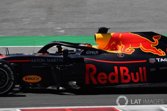 マックス・フェルスタッペン(レッドブル)2018年F1スペインGP