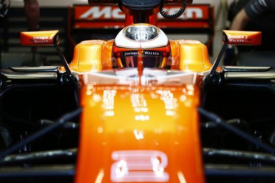 ストフェル・ヴァンドールン(マクラーレン・ホンダ)バルセロナF1テスト2017年3月