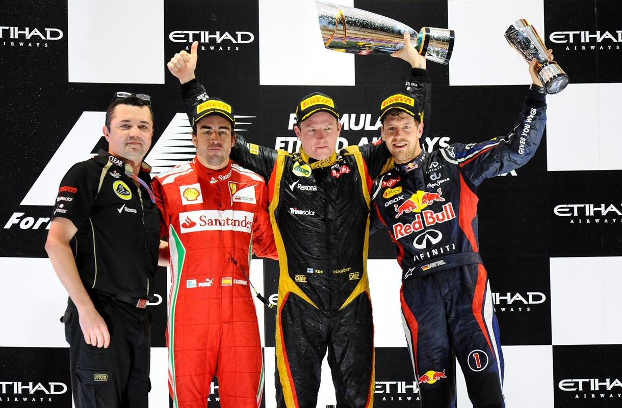 F1アブダビGPの優勝ドライバーは...
