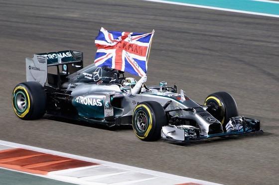 ルイス・ハミルトン(メルセデス)2014年F1ワールドチャンピオン