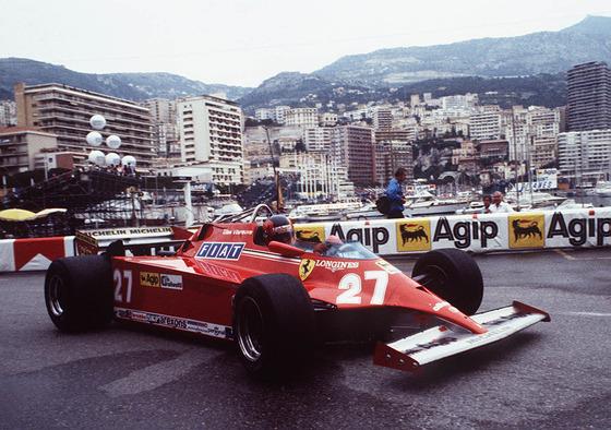 ジル・ヴィルヌーヴ(フェラーリ)、1981年F1モナコGP
