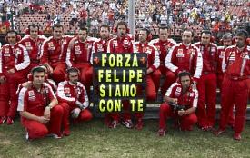 フェラーリ「頑張れフェリペ、僕らがついている」