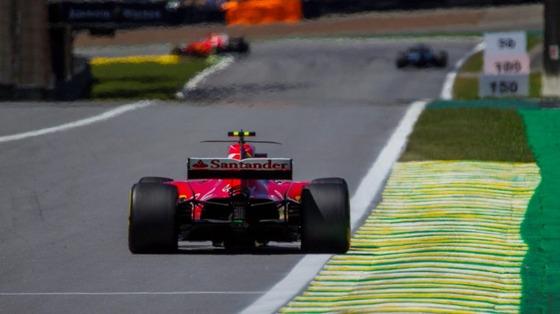 キミ・ライコネン(フェラーリ)2017年F1ブラジルGP