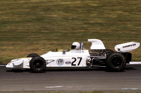 カルロス・ロイテマン、1972年F1イギリスGP