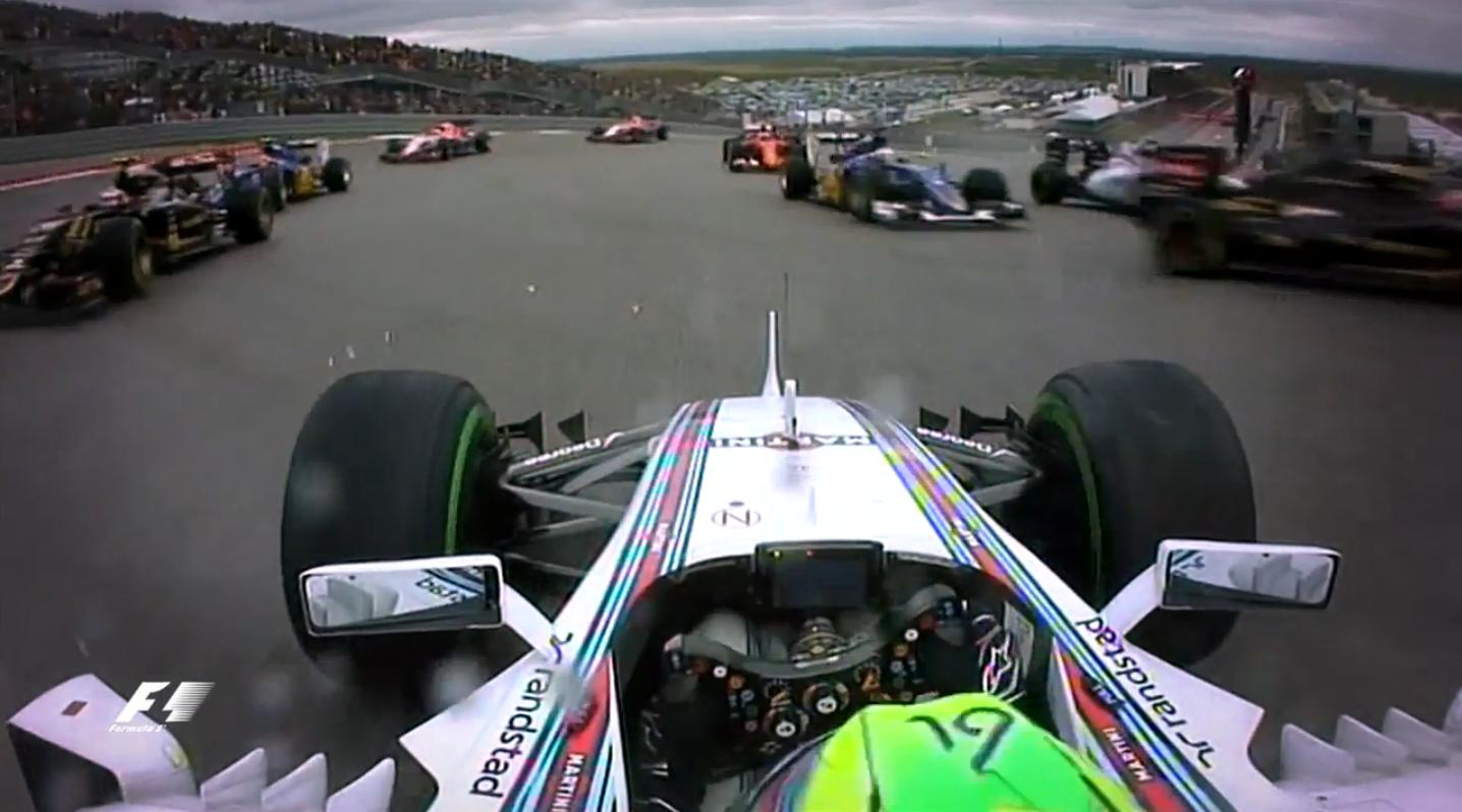 F1アメリカGP動画: 2015年レー...