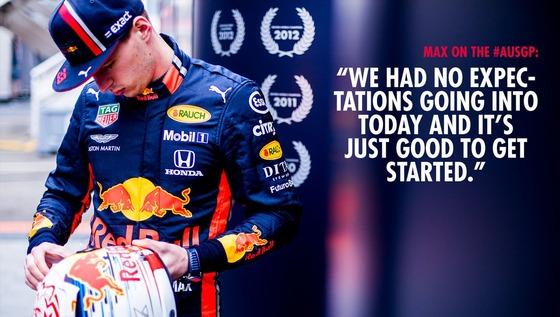 マックス・フェルスタッペン(レッドブル・ホンダ)2019年F1オーストラリアGP