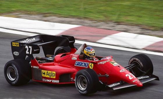 ミケーレ・アルボレート(フェラーリ)、1984年F1ベルギーGP