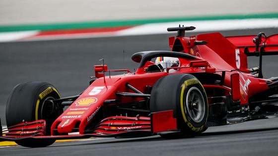 セバスチャン・ベッテル(フェラーリ):2020年F1ポルトガルGP