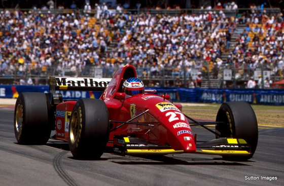 ジャン・アレジ(フェラーリ)、1995年F1オーストラリアGP