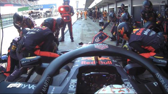フェルスタッペン、ピットイン:2020年F1スペインGP