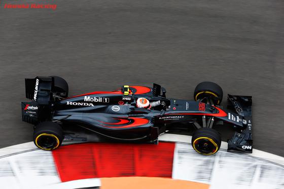 ジェンソン・バトン(マクラーレン・ホンダ) F1ロシアGP ソチ
